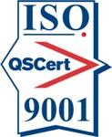 Certification mark ISO 9001
