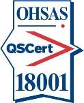Certification mark BS OHSAS 18001